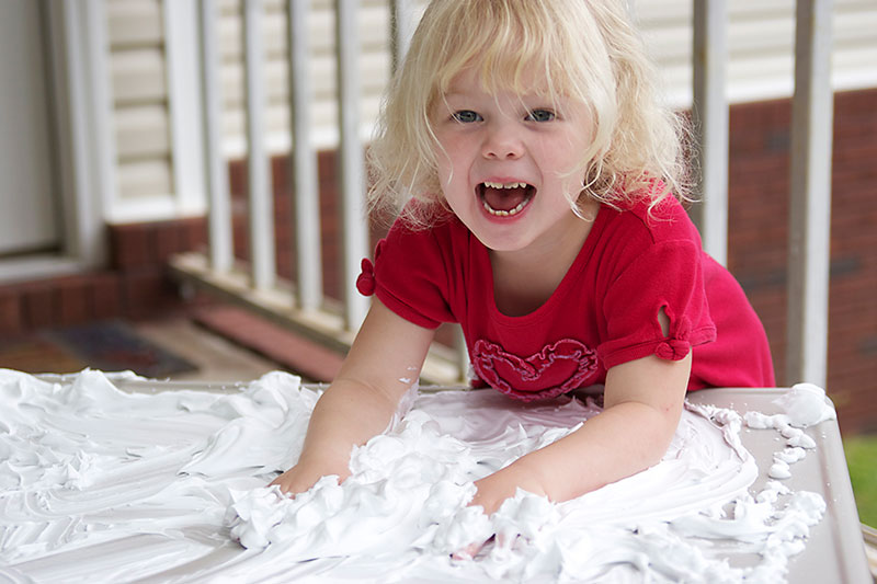 How to Homeschool Preschool and Love It Messy