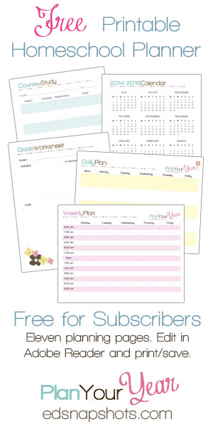 image relating to Free Printable Homeschool Planner identify Absolutely free Homeschool Building Mini-Package