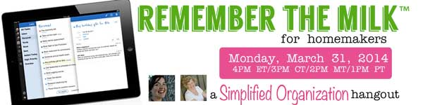 Remember the Milk Hangout | Everyday Snapshots