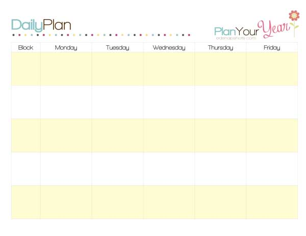 How to Plan a Week and Sample Homeschool Schedules