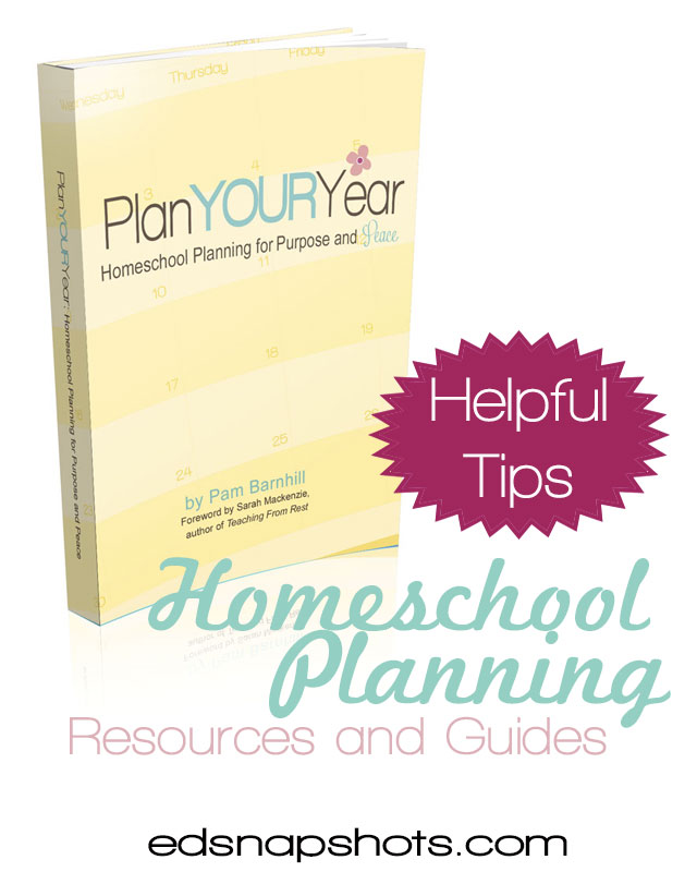 Homeschool Planning Tips and Resources