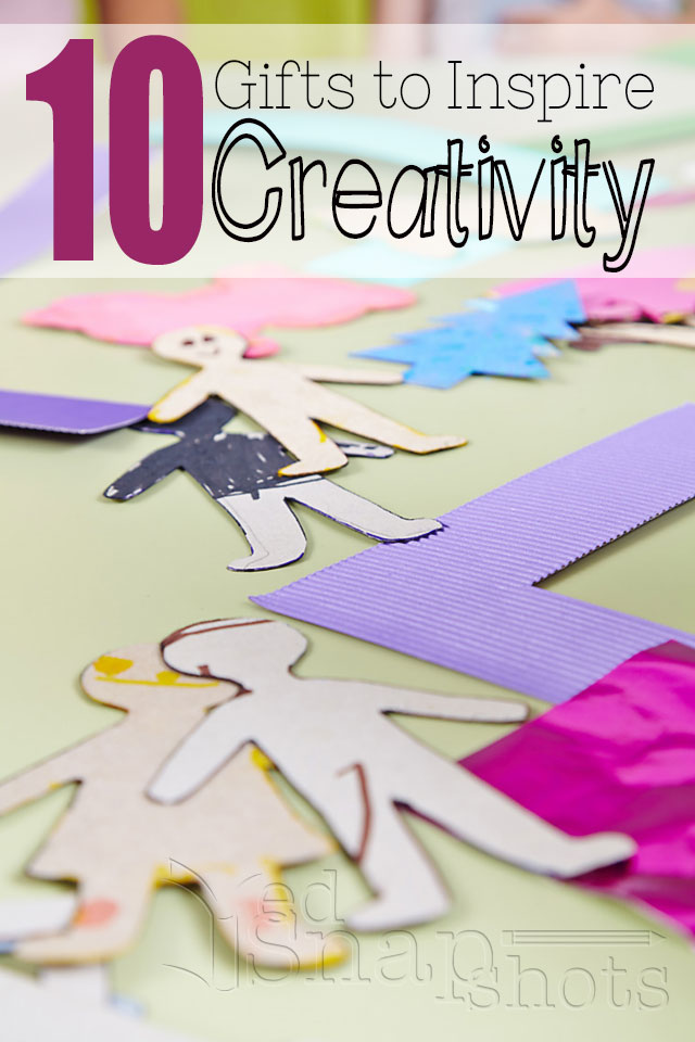 10 Gifts to Inspire Creativity in Kids