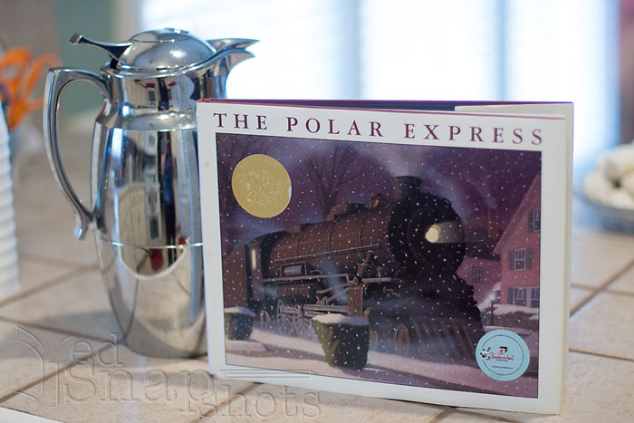 Christmas Picture Book Cookie Exchange Polar Express