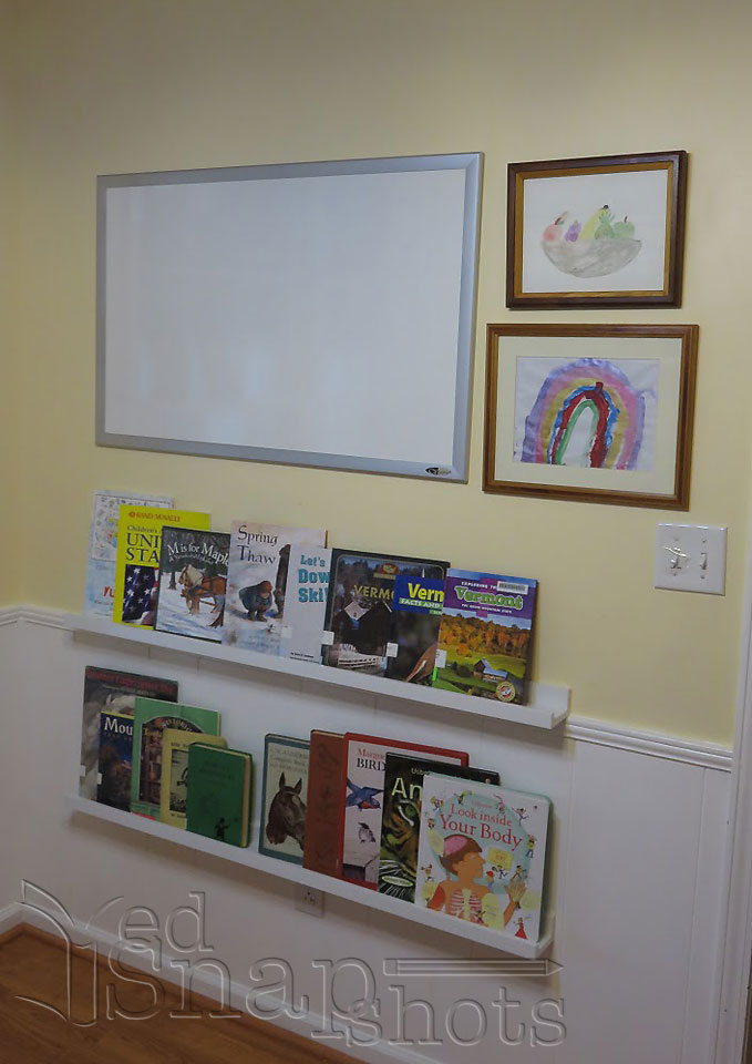 Ikea Homeschool Room Makeover Whiteboard