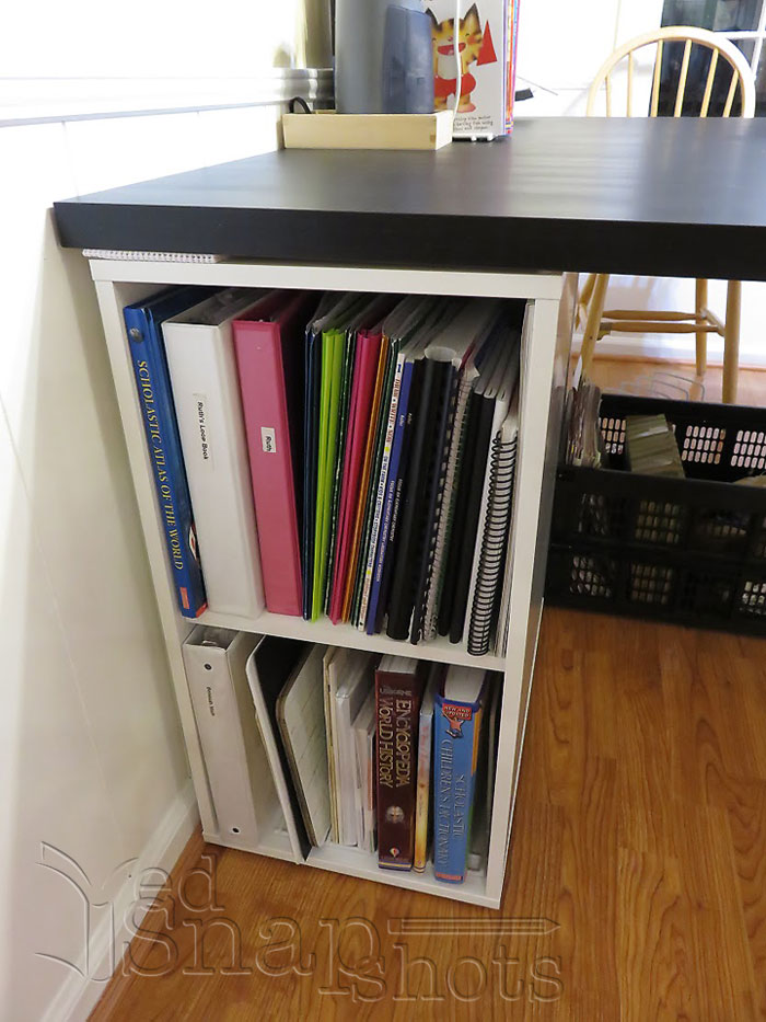 Ikea Homeschool Room Makeover Shelf