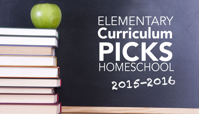 Jessica's Curriculum Picks for 2015-2016