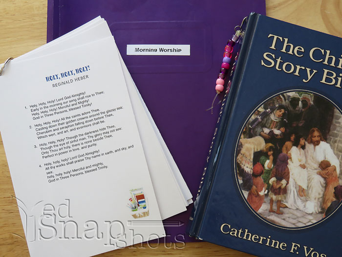 homeschool hymn study hymn cards