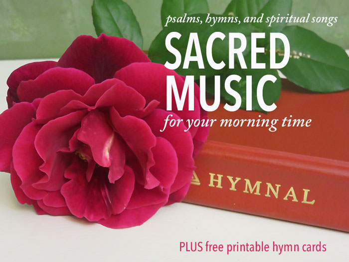 homeschool hymn study