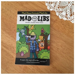 """Christmas Fun Mad Libs"" by Roger Price Morning Time Secret Weapons"