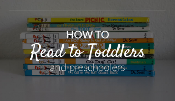 How to Read to Young Children