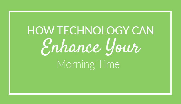 Using Technology to Enhance Your Morning Time -- with a few gadget purchases you can add ease and great new learning experiences to your homeschool Morning Time.