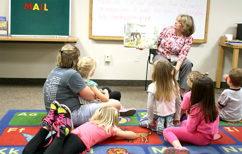Library Story Time for Preschoolers
