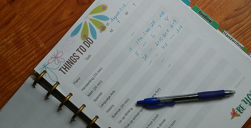 How to Use a Happy Planner to Organize Your Homeschool Student Feature