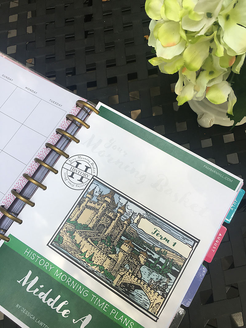 How to use a Happy Planner to organize your homeschool