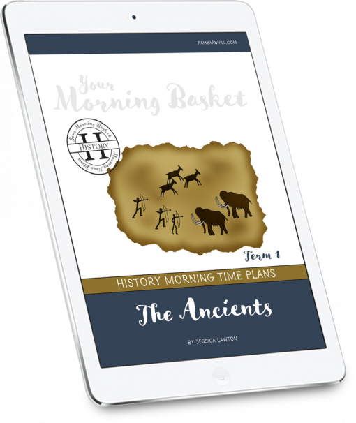 Ancient History Morning Time Plans Term 1