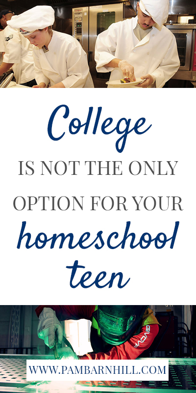 College is not the only option for your homeschool teen Pam Barnhill Homeschool Solutions
