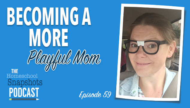 HSP 059 Christy Thomas: Becoming a More Playful Mom