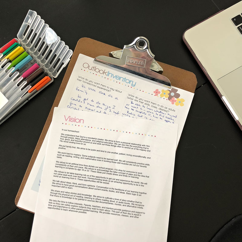 How a homeschool mom can worry less and do more