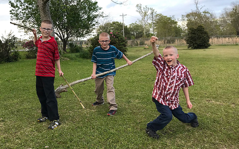 Homeschool Mom Finds Freedom in Planning Boys Playing