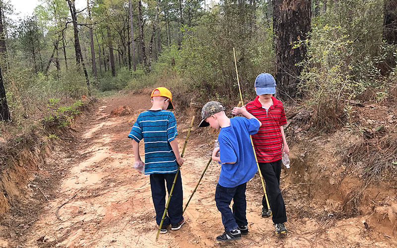 Homeschool Mom Finds Freedom in Planning Boys Exploring
