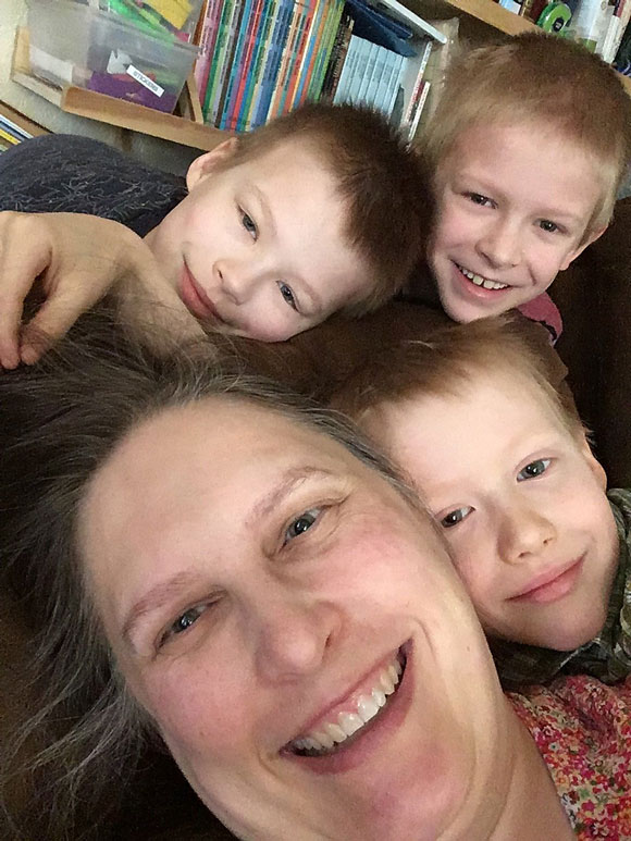 Homeschool Mom Finds Freedom in Planning happy family